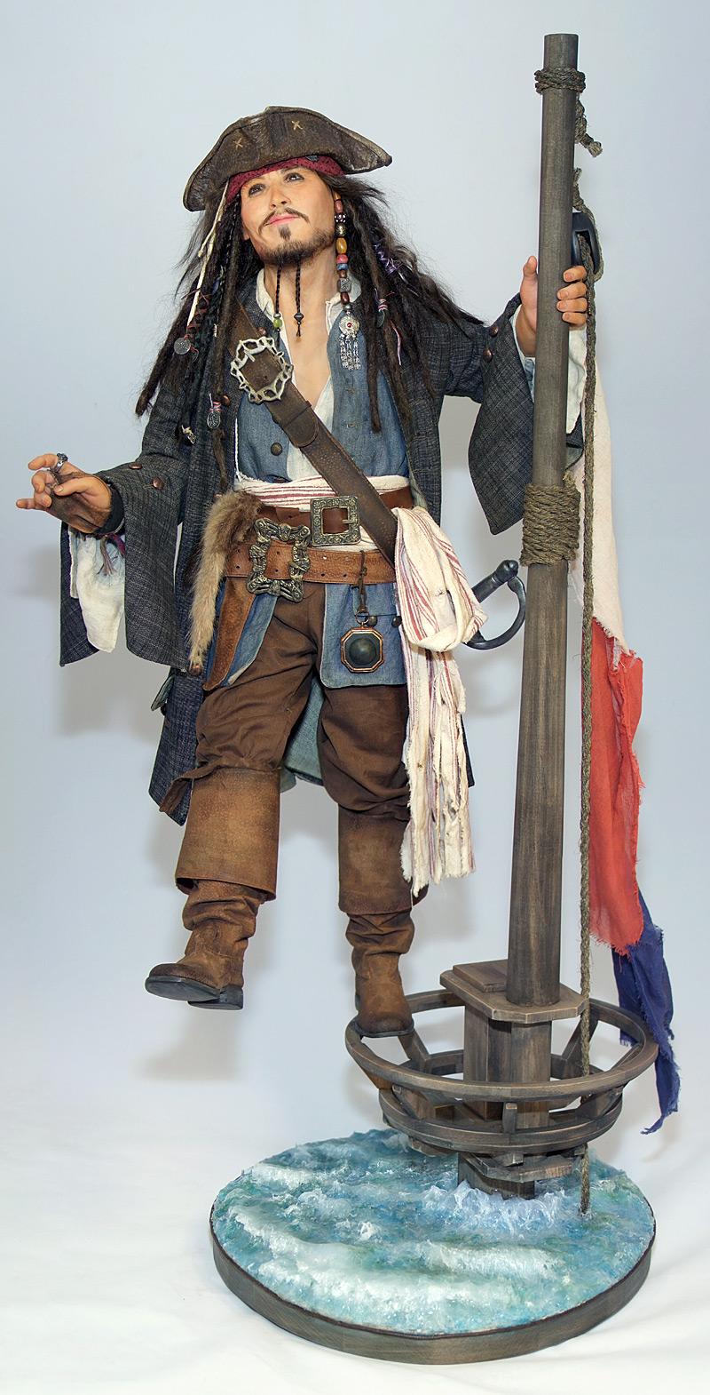 Капитан Джек Воробей II, 2011 год (общий вид)