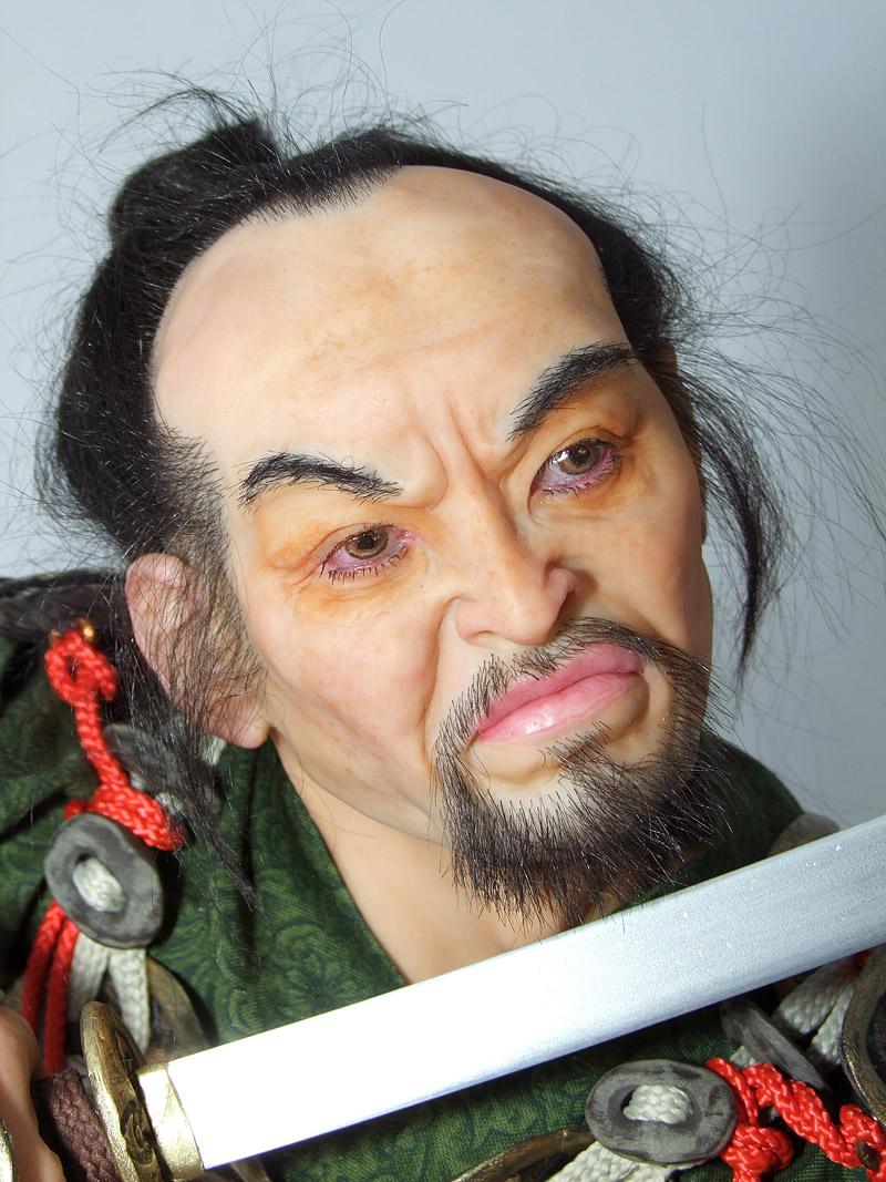 Самурай, 2012 год (лицо)